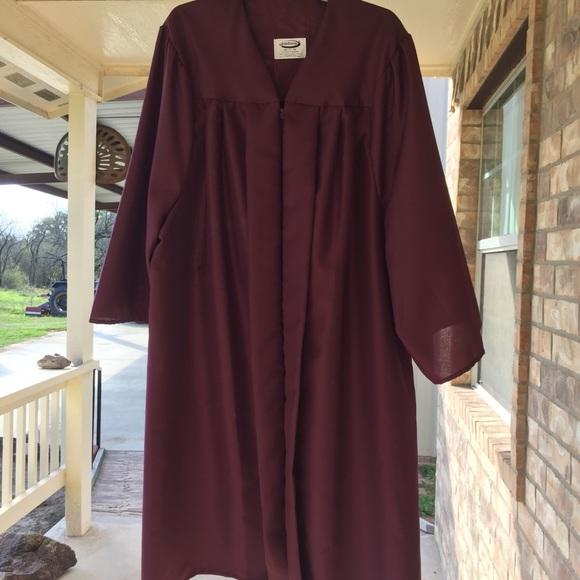 jostens Intimates & Sleepwear | Maroon Cap And Gown | Poshmark